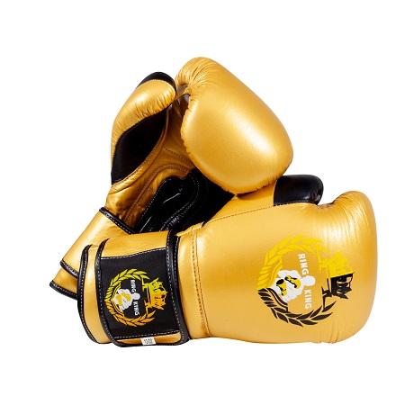 brand new Boxing Bag Gloves 16 oz  Ring King strapped gloves